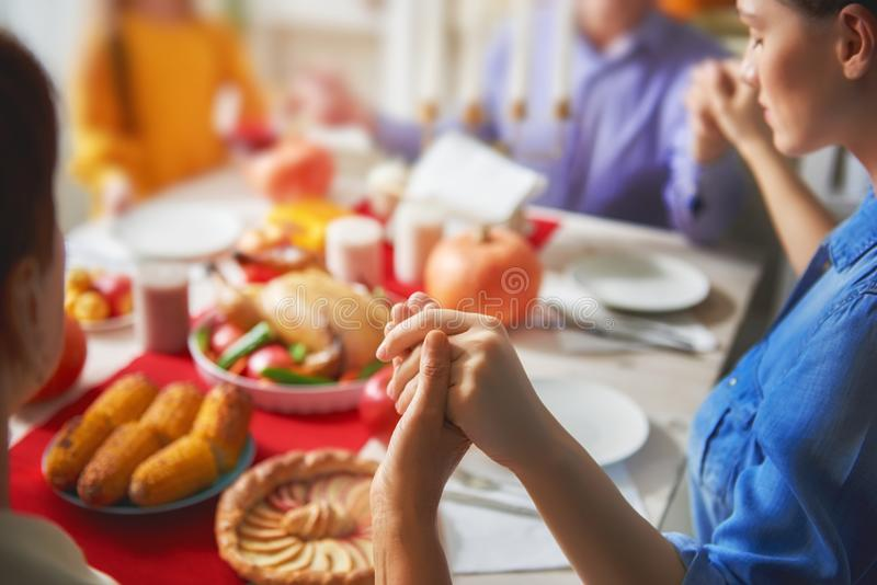 Gelukkig Thanksgiving day royalty-vrije stock afbeeldingen