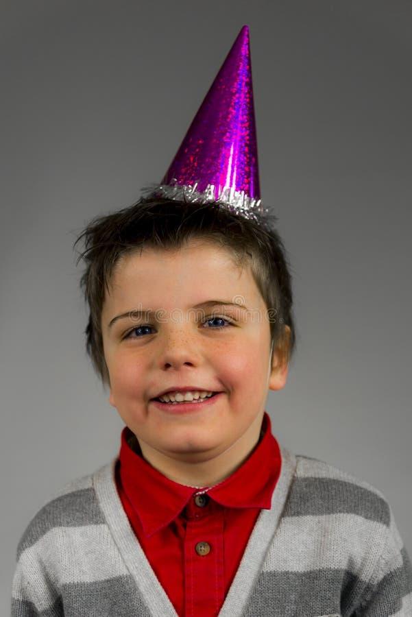 De jongen van de partij stock afbeeldingen