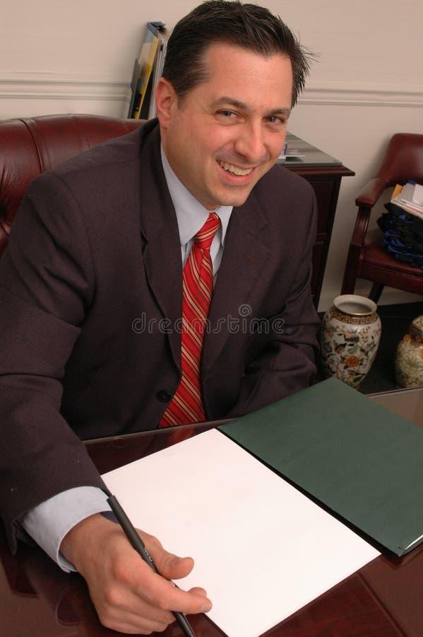 Gelukkige agent 569 royalty-vrije stock foto's