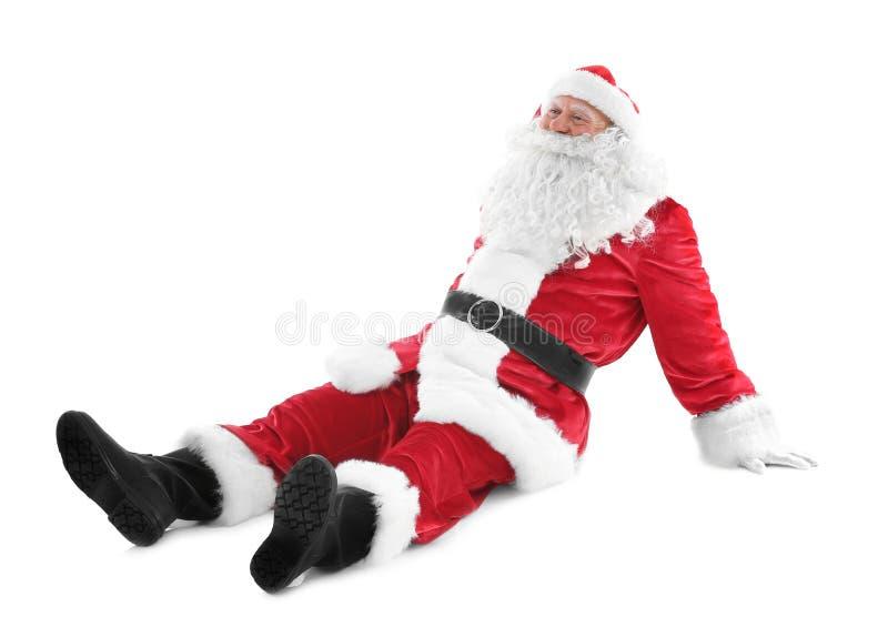 Download Gelukkige Authentieke Santa Claus Stock Foto - Afbeelding bestaande uit bejaarden, gelukkig: 107703274