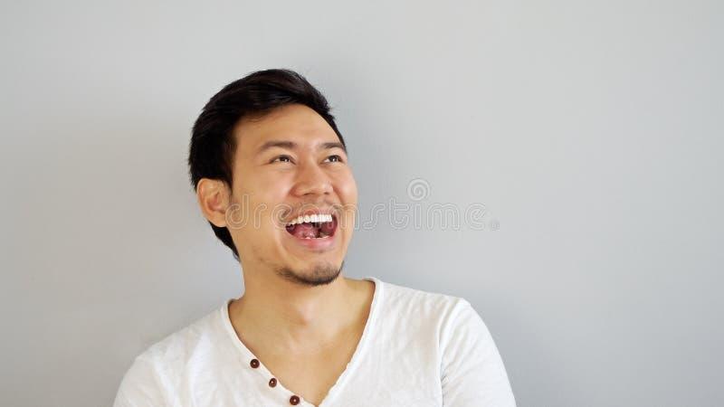 Gelukkige Aziatische mens royalty-vrije stock foto
