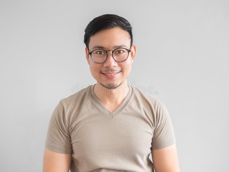Gelukkige Aziatische mens stock foto