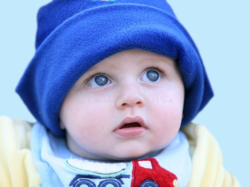 Gelukkige babyjongen stock afbeeldingen