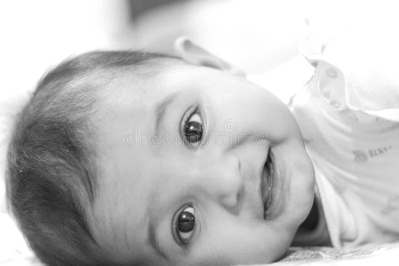 Gelukkige Blije Aziatische Indische Baby stock foto's