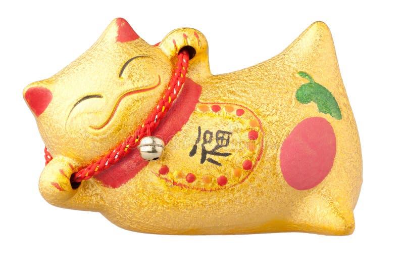 Gelukkige Chinese kat stock fotografie
