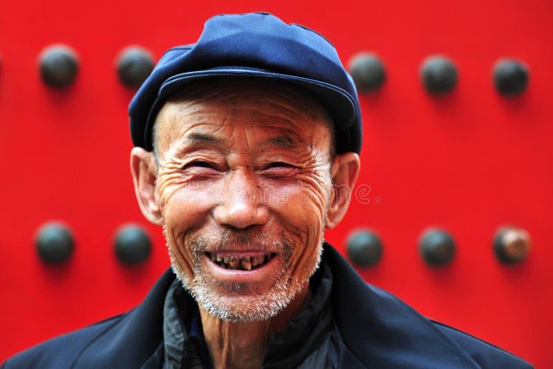 Gelukkige Chinese mens royalty-vrije stock fotografie