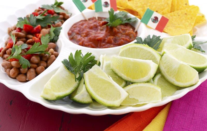 Gelukkige Cinco de Mayo-partijlijst stock foto