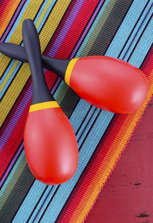 Gelukkige Cinco de Mayo-partijlijst stock afbeeldingen
