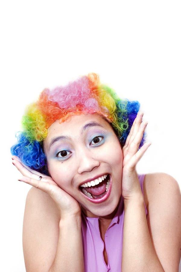 Gelukkige Clown stock foto