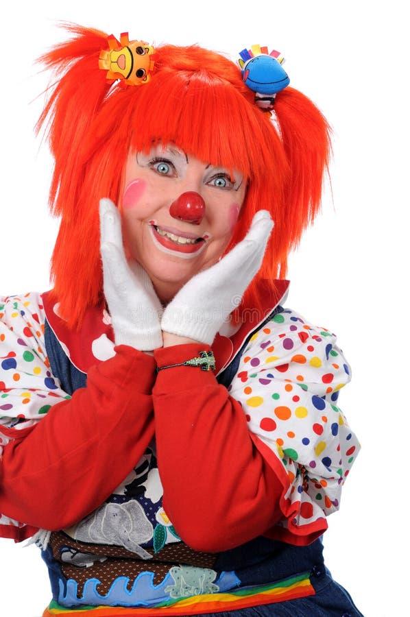Gelukkige Clown stock foto's