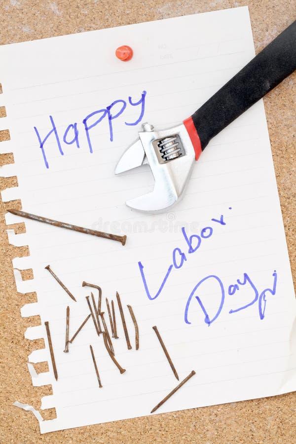 Gelukkige Dag van de Arbeid stock foto's