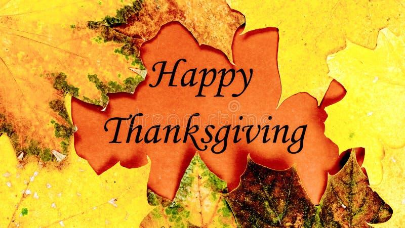 Gelukkige Dankzegging Thanksgiving day royalty-vrije illustratie