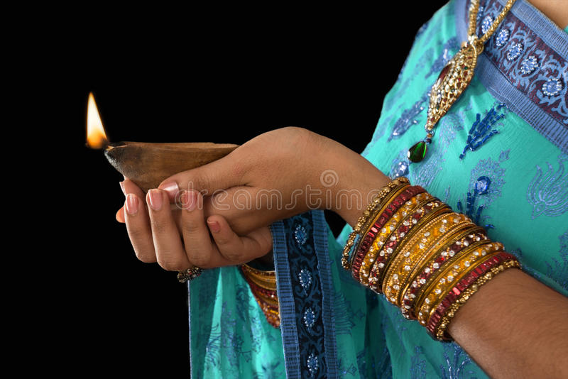 Gelukkige Diwali stock foto