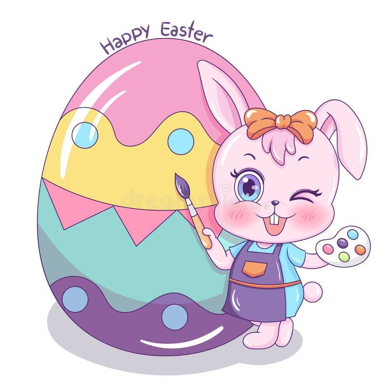 Gelukkige Easter_10 royalty-vrije illustratie