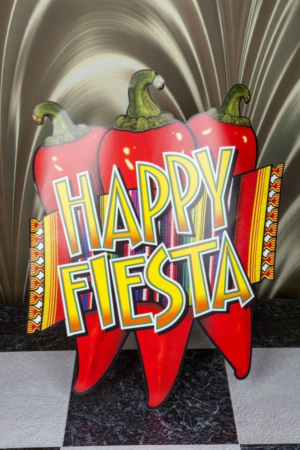 Gelukkige Fiesta stock foto's