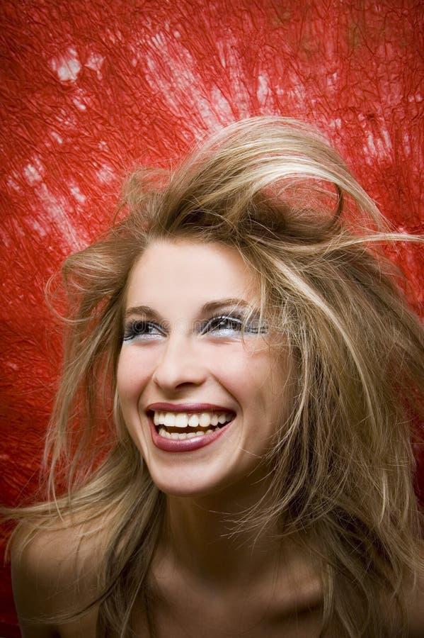 Gelukkige glimlach royalty-vrije stock afbeelding