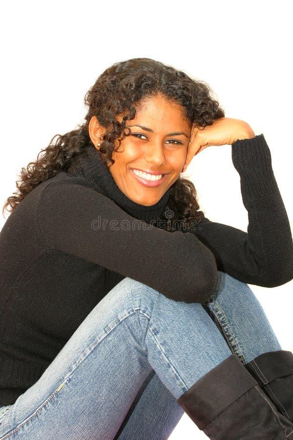 Gelukkige glimlach royalty-vrije stock foto's