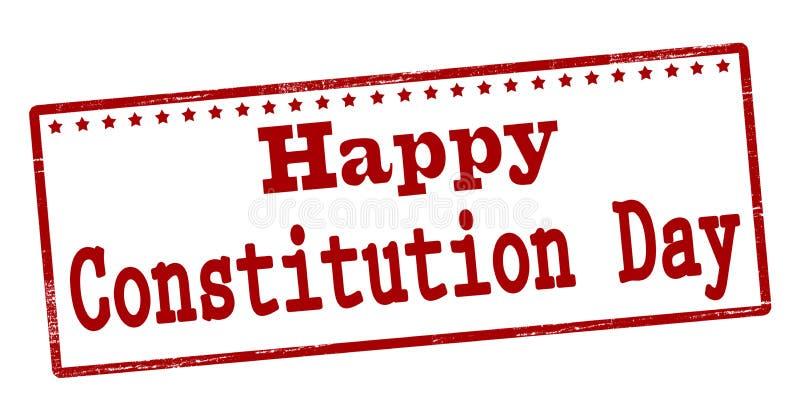 Gelukkige grondwetsdag vector illustratie