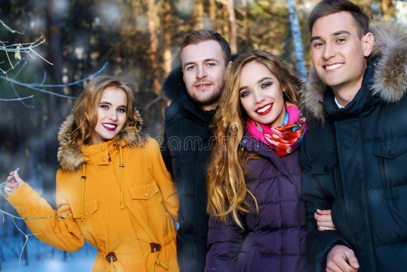 Gelukkige Jonge Mensen royalty-vrije stock fotografie