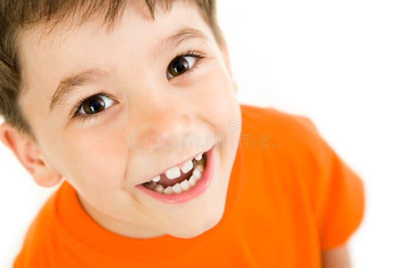 Gelukkige jongen royalty-vrije stock foto's