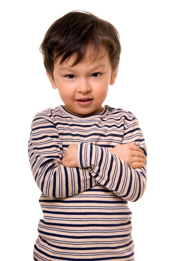 Gelukkige jongen. royalty-vrije stock afbeelding