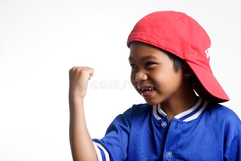 Gelukkige jongen royalty-vrije stock afbeelding
