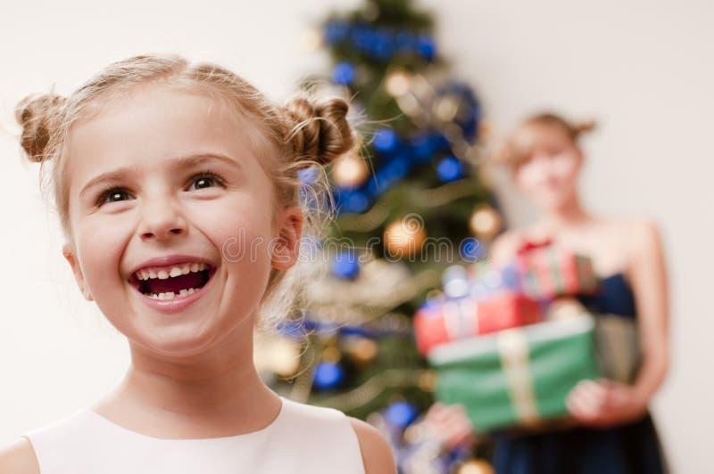 Gelukkige Kerstmis stock foto's