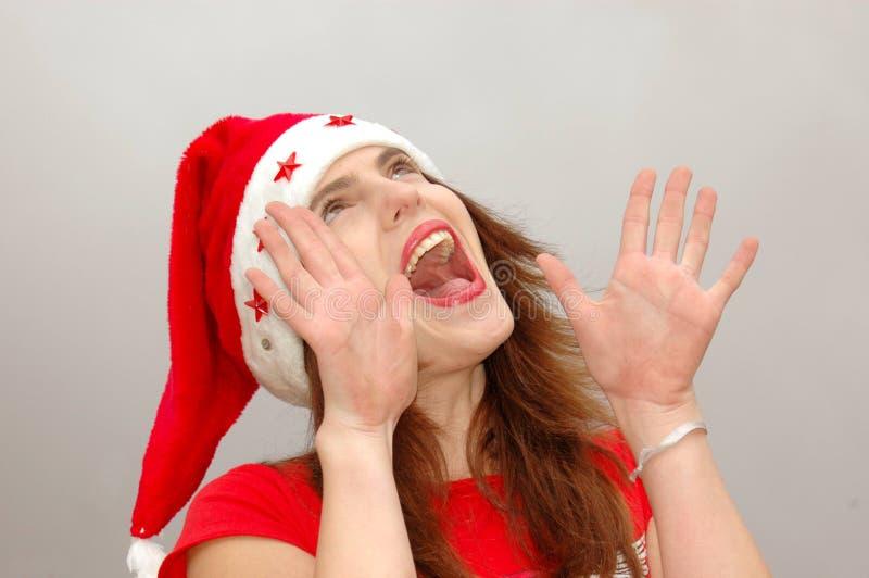Gelukkige Kerstmis! stock afbeeldingen