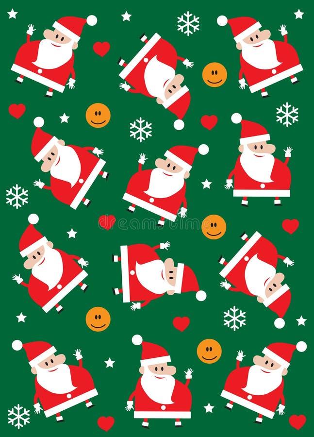Gelukkige Kerstmis royalty-vrije illustratie