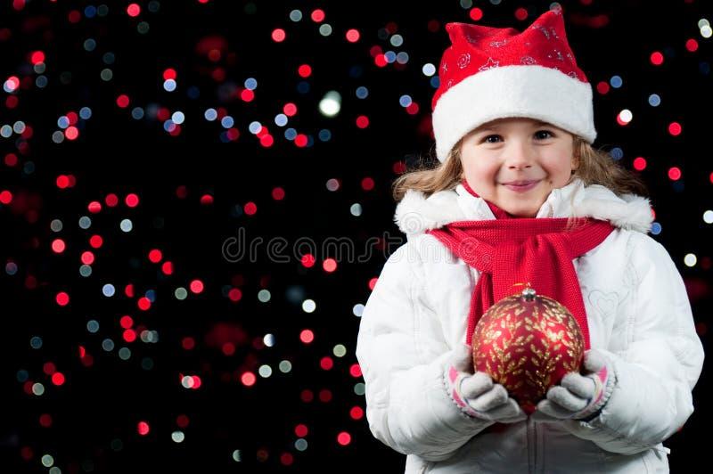 Gelukkige Kerstnacht stock foto's