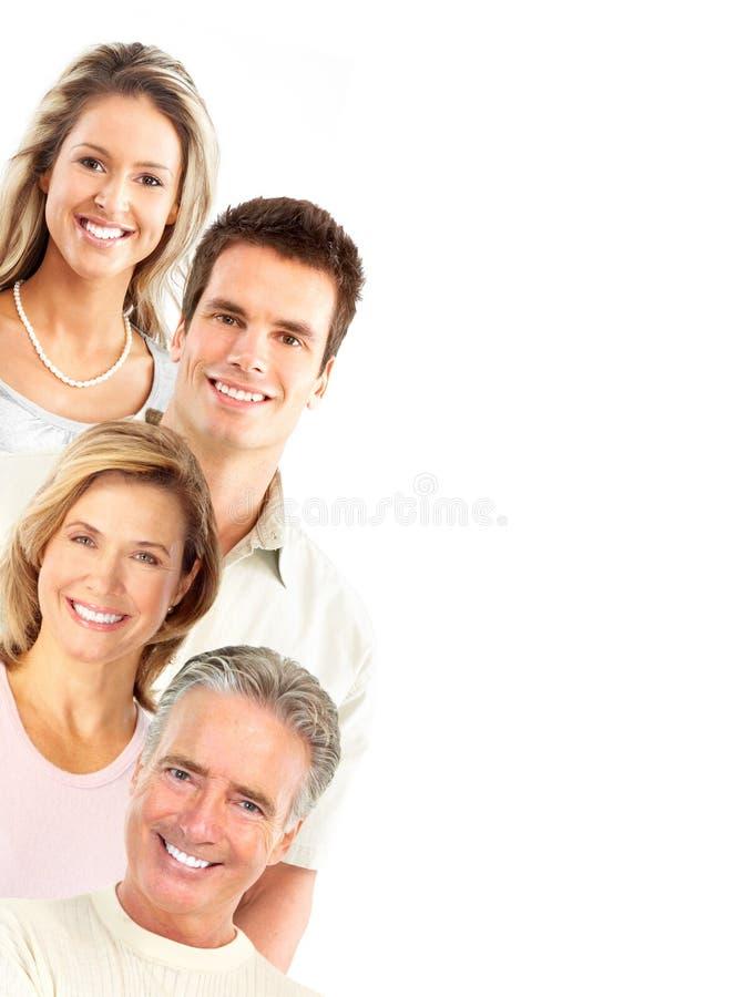 Gelukkige mensen