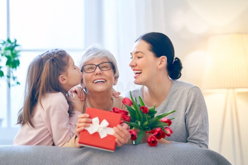 Gelukkige moeder`s dag royalty-vrije stock fotografie