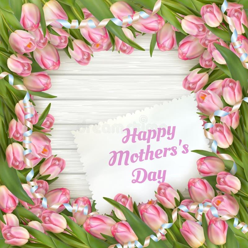 Gelukkige moederdag Eps 10 vector illustratie