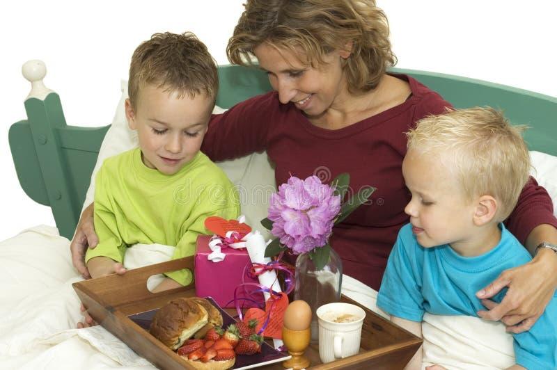 Gelukkige Moeders Dag -2 stock foto