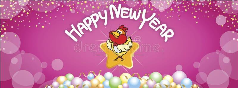 13 gelukkige nieuwe jaar 17 FB stock foto