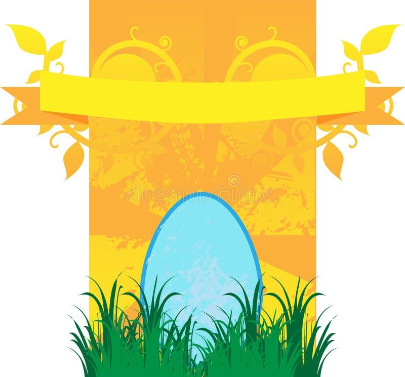 Gelukkige Pasen royalty-vrije illustratie