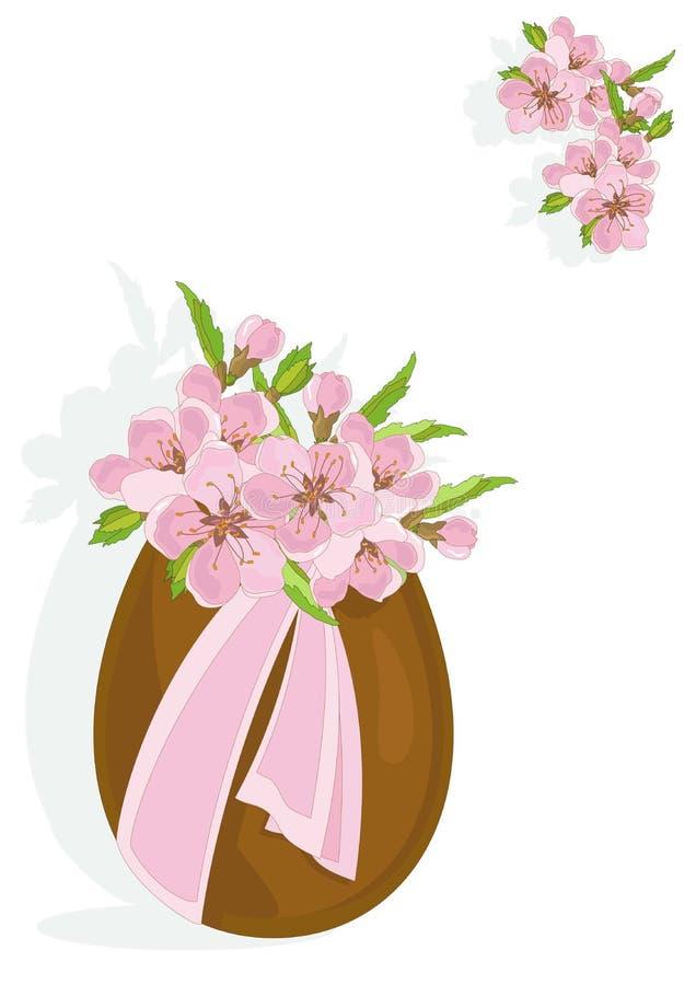 Download Gelukkige Pasen vector illustratie. Illustratie bestaande uit lint - 39113535