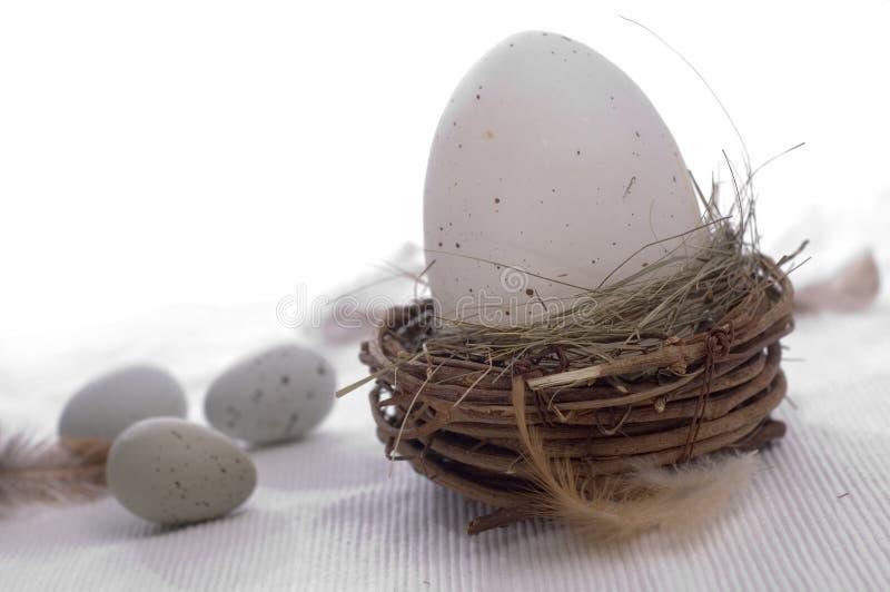 Gelukkige Pasen - eieren royalty-vrije stock afbeelding
