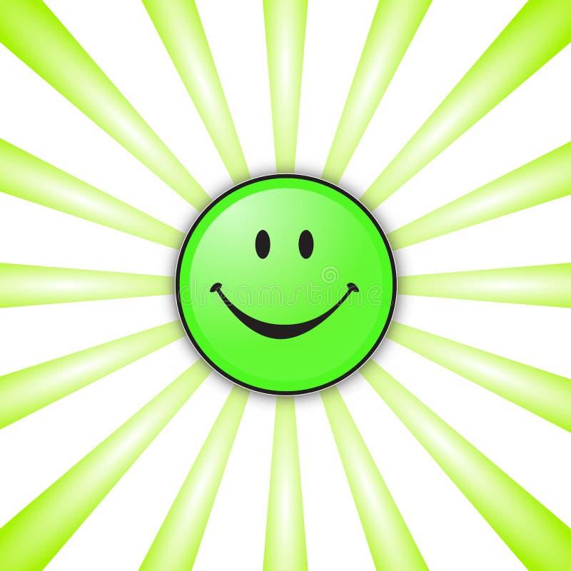 Gelukkige smiley stock illustratie
