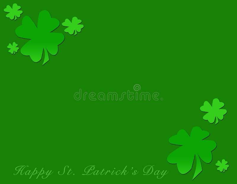 Gelukkige St. Patrick Dag vector illustratie