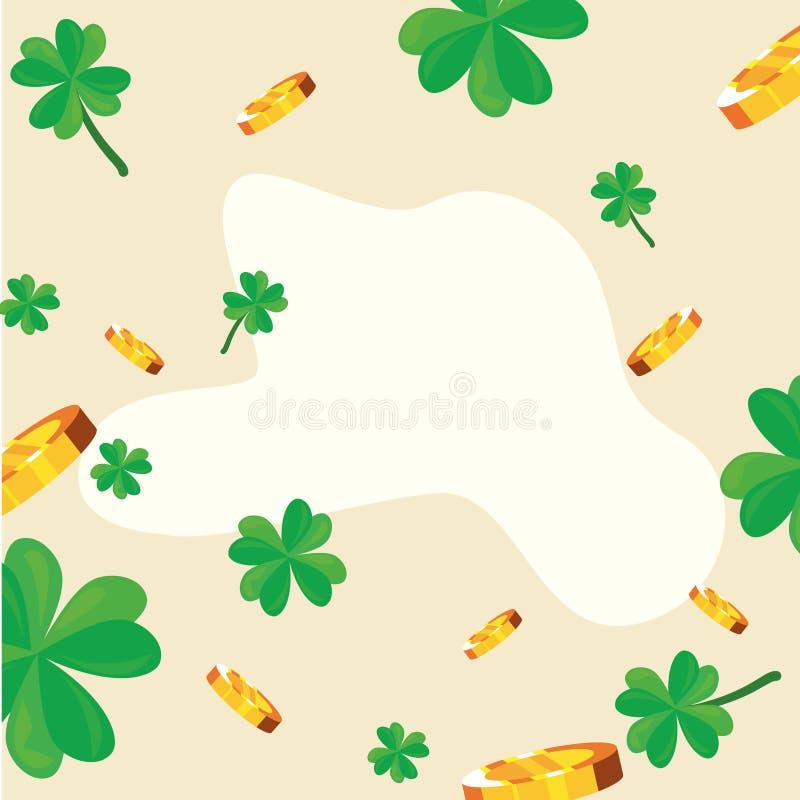Gelukkige St Patricks dag stock illustratie
