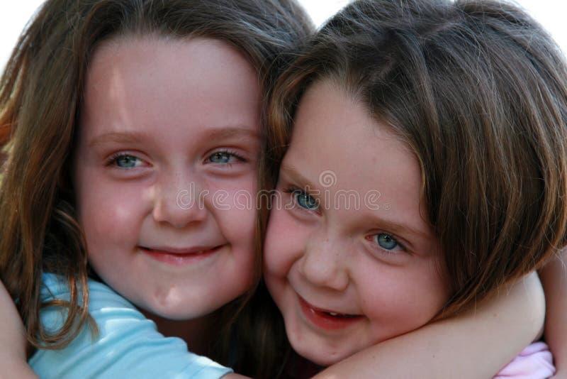 Gelukkige Tweelingen stock foto