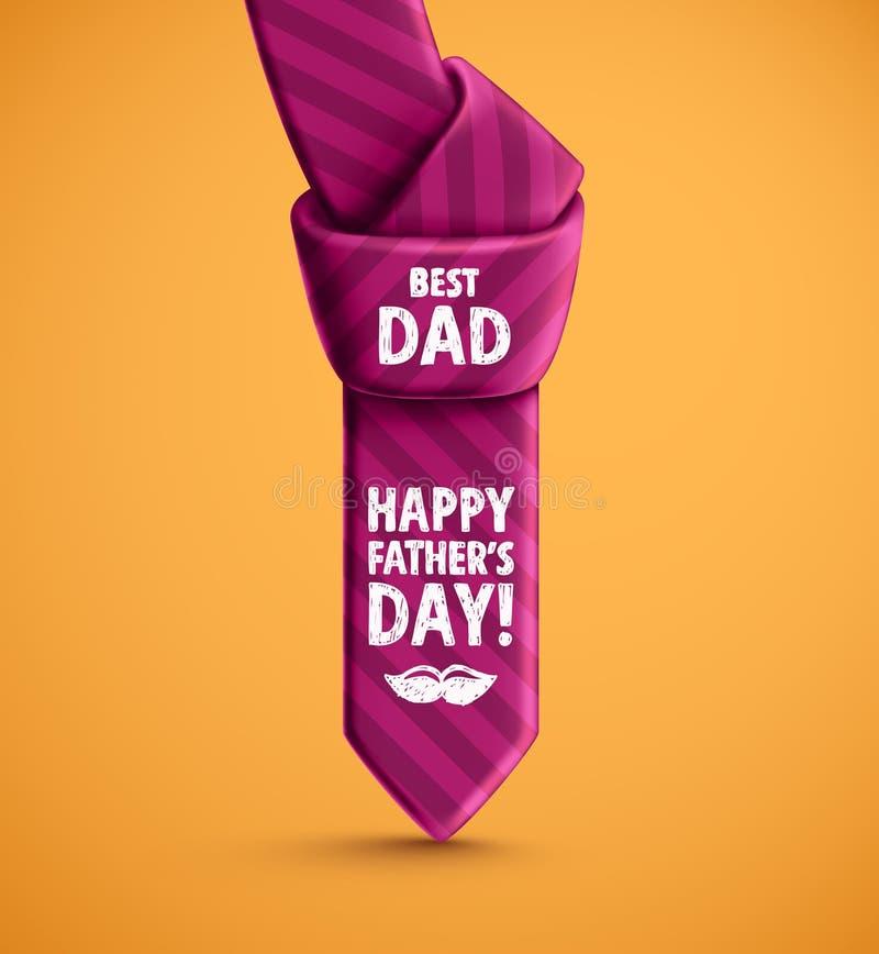 Gelukkige Vaderdag! stock illustratie