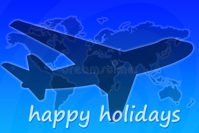 Gelukkige Vakantie Stock Fotografie