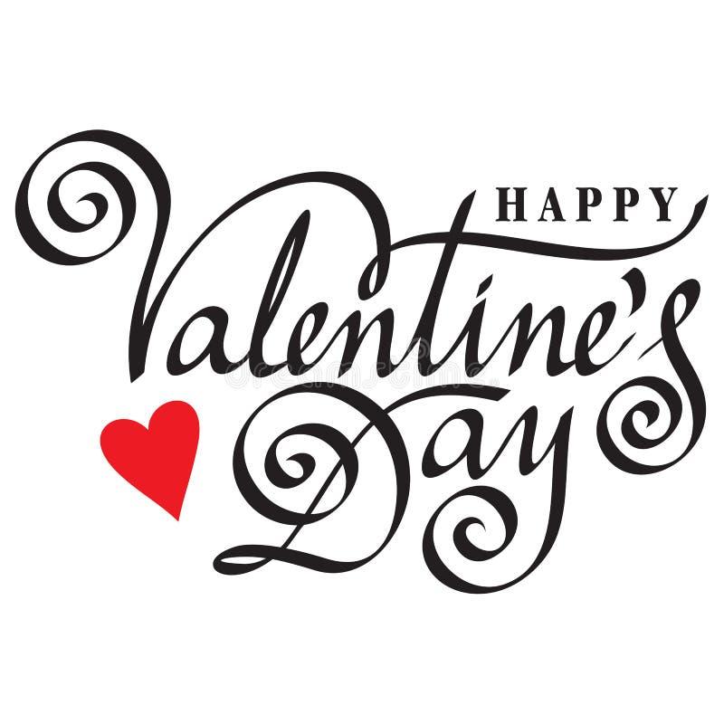 Gelukkige valentijnskaartdag vector illustratie