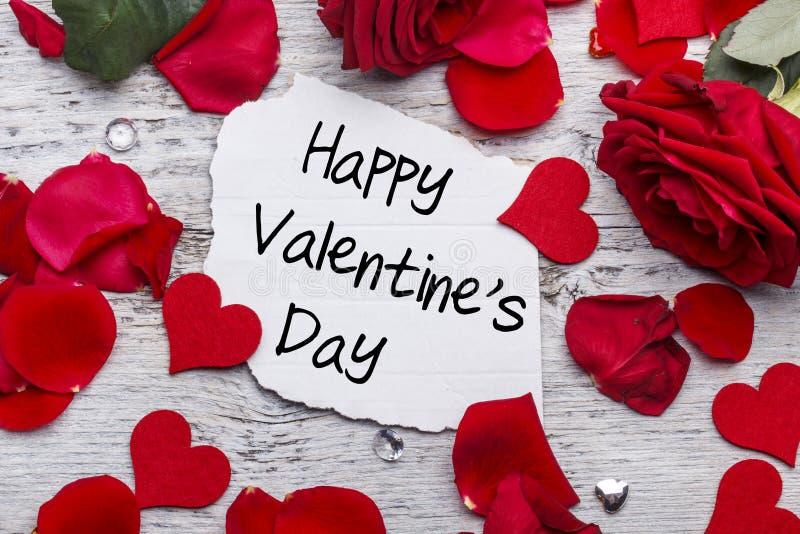 Gelukkige Valentijnskaartendag stock foto's