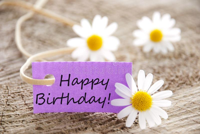 Gelukkige verjaardag! stock afbeeldingen