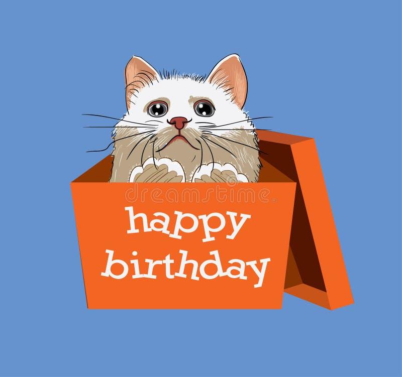 Gelukkige Verjaardag stock illustratie