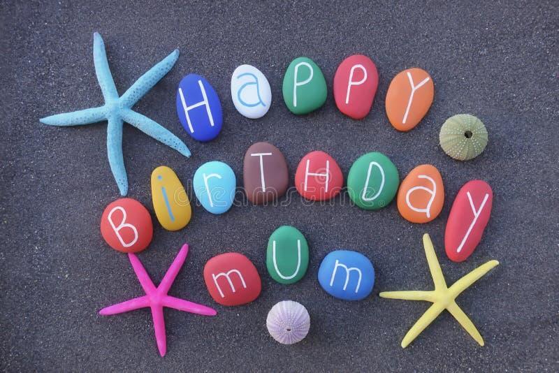 Gelukkige Verjaardag Mum stock afbeelding