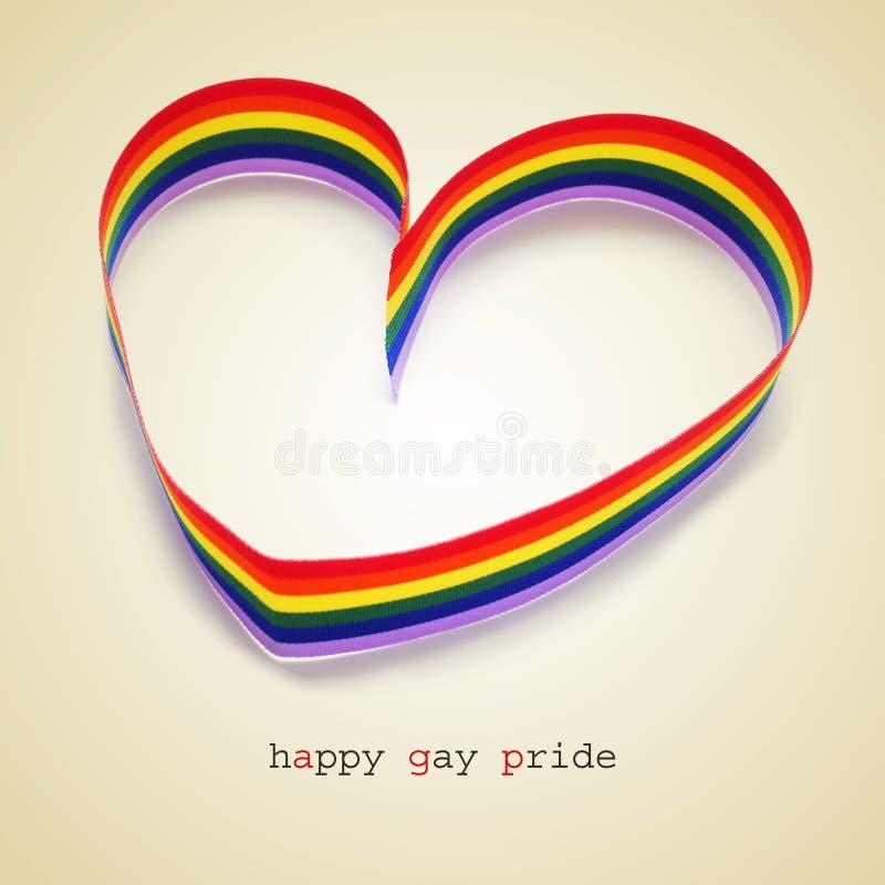 Gelukkige vrolijke trots vector illustratie